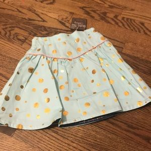 NWT- Sweet polka dot skirt